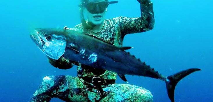 Speerfischen in Nord-Sulawesi